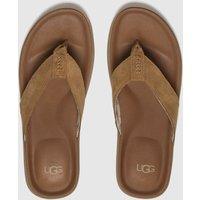 Ugg Tan Brookside Sandals