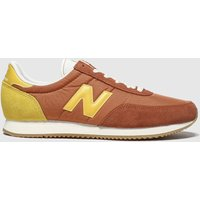 New Balance Brown & Stone 720 V1 Trainers