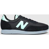 New Balance Black & Green 720 Trainers