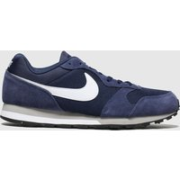 Nike-Navy-and-White-Md-Runner-2-Trainers