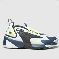 Nike-White-and-Grey-Zoom-2k-Trainers