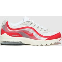 Nike-White-and-Red-Air-Max-Vgr-Trainers