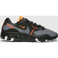 Nike-Black-and-Orange-Renew-Lucent-2-Trainers
