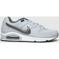 Nike-Light-Grey-Air-Max-Command-Trainers