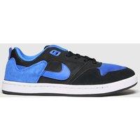 Nike SB Black And Blue Sb Alleyoop Trainers