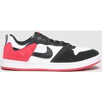 Nike SB Black & Red Sb Alleyoop Trainers