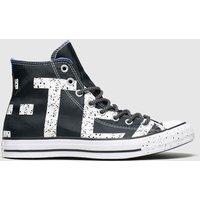 Converse Black & White All Star Gore-tex Hi Trainers