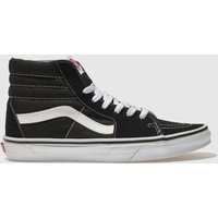 Vans Black & White Sk8-hi Trainers