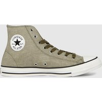 Converse Brown Washed Textile Hi Trainers