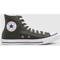 Converse-Khaki-Leather-Hi-Trainers