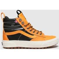 Vans-Black-and-Orange-Sk8hi-Mte-2-0-Dx-Trainers