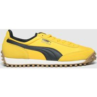 PUMA Yellow Fast Rider Source Trainers