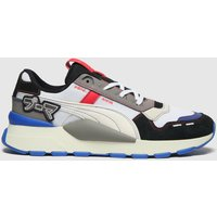 PUMA White & Grey Rs-0 Bt Japanorama Trainers