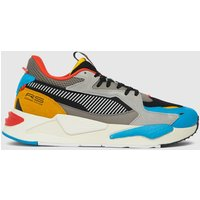 PUMA Black And Blue Rs-z Trainers