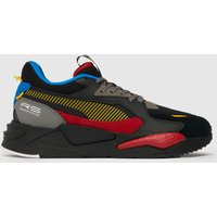 PUMA Black & Red Rs-z Trainers