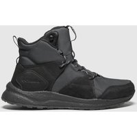 Columbia-Black-and-Grey-Shft-Outdry-Trainers