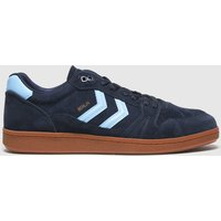 Hummel Navy & Pl Blue Handball Berlin Trainers