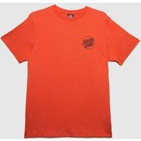 Santa Cruz Dressen Dog T-shirt In Orange