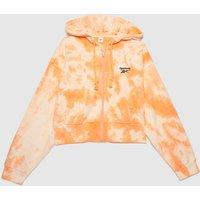 Reebok Sr Cloud Dye Full Zip In Peach
