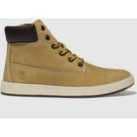 Timberland Natural Davis Square 6 Inch Boots Junior