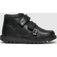 Kickers Black Kick Scuff Hi Boots Junior