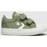 Converse Khaki Star Player 2v Lo Trainers Toddler