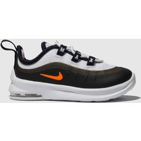 Nike White & Orange Air Max Axis Trainers Toddler