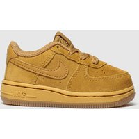 Nike Tan Air Force 1 Lv8 3 Trainers Toddler