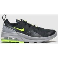 Nike Black & Green Air Max Motion 2 Trainers Junior