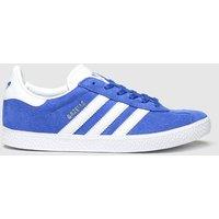 Adidas Blue Gazelle Trainers Youth