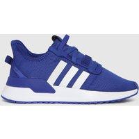 Adidas Navy & White U_path Run Trainers Youth