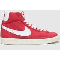 Nike Red Blazer Mid Trainers Youth