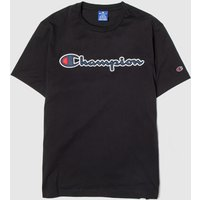 Clothing Champion Black Crewneck T-shirt