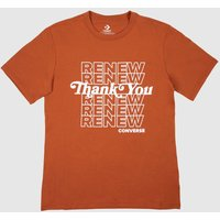 Clothing Converse Red Renew Graphic Tee