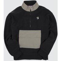 Clothing-Fila-Black-Kenny-Sherpa-Half-Zip