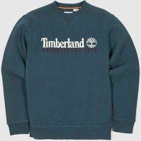 Clothing Timberland Turquoise Heritage Crew Neck Sweat