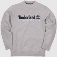 Clothing-Timberland-Grey-Heritage-Crew-Neck-Sweat