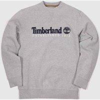 Clothing Timberland Grey Heritage Crew Neck Sweat