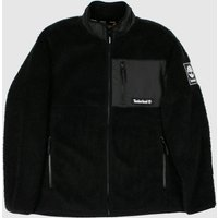 Clothing-Timberland-Black-and-White-Sherpa-Fleece