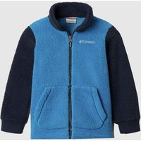 Clothing-Columbia-Blue-Boys-Fleece-Full-Zip