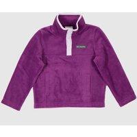 Clothing-Columbia-Purple-Kids-Fleece-Half-Zip