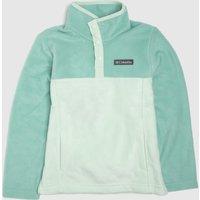 Clothing-Columbia-Turquoise-Kids-Fleece-Half-Zip