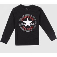 Clothing-Converse-Black-and-Red-Kids-Ls-Chuck-Patch-Tee