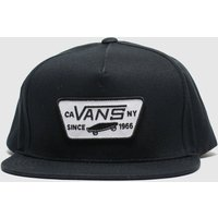 Accessories Vans Black & White Full Patch Snapback