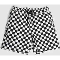Clothing-Vans-Black-and-White-Range-Short