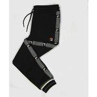Clothing-Fila-Black-Danube-Fleece-Track-Pant