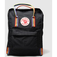 Accessories Fjallraven Black & Orange Kanken Rainbow