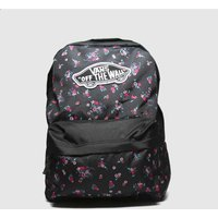 Accessories Vans Black And Blue Realm Backpack