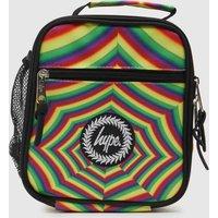 Hype Multi Optical Rainbow Lunch Bag