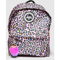 Accessories Hype Multi Rainbow Leopard Backpack